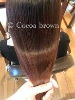 オハナ(ohana)大人可愛いココアブラウン ■ ohana 表参道 髪質改善 ■