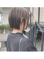 セカンド(2nd)ミニボブ/ボブ/小顔カット/ショート/ハイライト