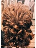 ヘアセットサロン アトリエ チャイ(Hair set salon atelier CHAI)華やかゆるふわアップ