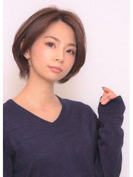 ヘアー ロギア(hair LOGiA)★hair LOGiA★  〇大人系ショートボブスタイル
