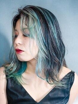 アルル ヘアー(ARURU HAIR)の写真/人とは違うオシャレでいたい!いつものカラーに飽きたらワンランク上の上質カラーで自分だけのデザインに♪