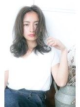 ネオリーブセトラ 新宿東口店(Neolive cetla)【Neolive cetla 新宿】グレージュ×セミディ