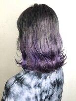 ソース ヘア アトリエ 京橋(Source hair atelier)【SOURCE】ラベンダーグラデーション