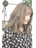 ヘアーサロン エール 原宿(hair salon ailes)(ailes 原宿)style375 デザインカラー☆ミルクアッシュ