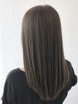 ゴッドヘアーアンドメイク 前橋元総社店(GOD Hair&Make)の写真/切れ毛や広がり等、ダメージ髪を内側から補修!今までとは違うなめらかな手触りを実感してください♪