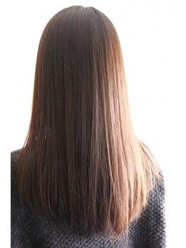 ビーム バイ ヘア(Beam by Hair)の写真/朝のお手入れをラクに!丁寧な施術と豊富な知識で自然なサラツヤストレートを実現します!