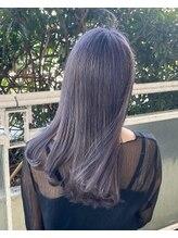 ルッツ(Lutz. hair design)lavender gray