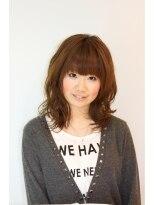 ヘアメイク オブジェ(hair make objet)ふわかわセミディ