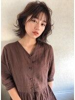 アリーズヘアー 心斎橋OPA(allys hair)シースルーバングに小顔ラインボブ☆