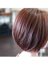 ルーセントヘアー(LUCENT HAIR)ピンクベージュ×ボブ ☆美髪☆