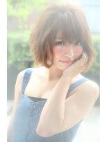 ダミアバイルル(DAMIA by LuLu)20★大人の春夏スタイル+大人可愛い+外国人風人気カジュアルボブ