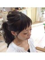 ロイ ヘアルーム 草加店(Roy hairroom)簡単アレンジ