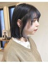 アイニコ(ainico)ちらっと見えるホワイト/イヤリングカラー