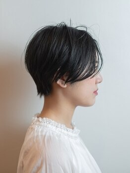 フィノ(PHINO)の写真/【北花田】顔周りがふんわり動く様にカット⇒『黄金比率の小顔効果』毎日手ぐしで収まる綺麗な髪に…♪