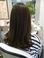 美容室 サロンドコームツヤ髪ストレート