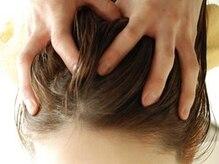 東洋医学の理念に基づくHIKE×THREEのヘッドスパ