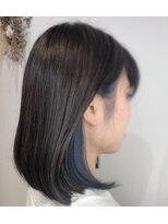 ボタニウム ドット アン(BOTANIUM.An) 【BOTANIUM.An】Blue × Earring Colour
