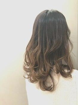 アトリエクレット(Atelier Courette)の写真/【鈴鹿市】オーガニックのカラー剤で髪や頭皮に優しい♪発色/ツヤ/ダメージレスでナチュラルな仕上がりに☆