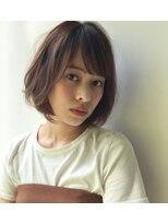 ガーデン ハラジュク(GARDEN harajuku)【鈴木 ゆうすけ】ラフな抜け感小顔ボブ × ココアブラウン