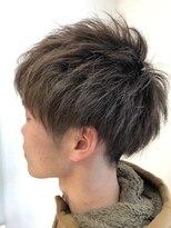 アルファ ヘアー デザイン(alpha hair design)ツーブロック サイド ネープ マッシュ