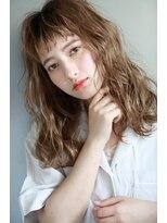 ルタ(LuTa by siesta&LiCO)LuTa☆スモーキーベージュシースルーバング