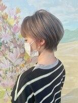 フラワーズ(FLOWERS)FLOWERS☆グレージュショート☆093-952-8005