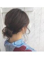クレーデヘアーズ 相田店(Crede hair's)#浴衣のゆったりアレンジII