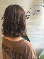 ブレス ヘアアンドスパ 湘南台(bless hair spa)ハイライトグラデーション