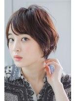 リル ヘアーデザイン(Rire hair design)【Rire-リル銀座-】アンニュイショートボブ