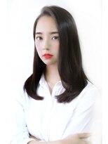 ソレイユ(Soleil)【表参道】Soleil菊地<前髪長めのツヤ髪でまとまるロングヘア>