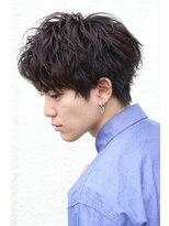 ザ サードヘアー 津田沼(THE 3rd HAIR)ツーブロック コンマヘア ソフトスパイラルパーマ