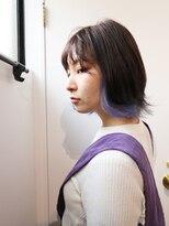 コンパス(COMPASS)ブルーバイオレットデザインカラー