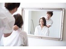 モノ ヘアー アトリエ(mono hair atelier)の雰囲気(大人女性へ向けたこだわりサロン。一人一人に合わせた提案。)