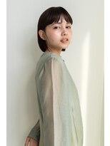 エニイ(ANY)暗髪ミニボブ