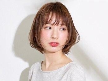 ルーウィン(LE WIN)の写真/生コラーゲン配合のカラーで、毛先まで髪がキレイ&柔らかくなる!大人女性の為の艶めく美髪をご提案♪
