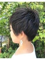 《Kiko*おすすめ》Cool×Cuteを組み合わせたショートヘア