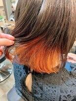 クレア バイ グレープバイン 金沢文庫(CLAIRE by GRAPEVINES)インナーカラー☆オレンジ
