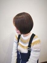 ヘアメイク スコア(Hair Make S CORE)キュートな丸ボブ