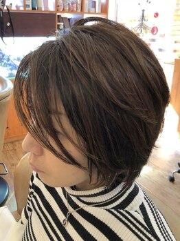 アムールピコ 浦安(Amour Pico)の写真/髪に優しいオーガニックの薬剤を取扱い!ハーブカラーで頭皮に優しく、ダメージレスに髪を染め上げます♪