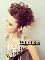 ワークス ヘアデザイン(WORKS HAIR DESIGN)ヌーディーなモヒカンパーティヘアーセット