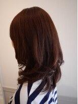 ヘアー カラー キー(HAIR color KEY)ボルドーカラー