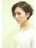 エゴヘアコレクション(EGO HAIR COLLECTION))#ミニマル#サイドパート#色気ショート