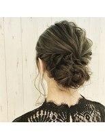 ラ ブランシュ 大宮(La Blanche)結婚式ヘアアレンジ/大宮美容室/韓国ヘア/髪質改善