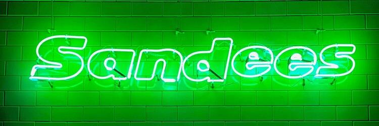 サンディーズ(Sandees)のサロンヘッダー