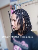 【black hair】¥ASK 仙台ブレイズ 地毛だけでブレイズ 編み込み