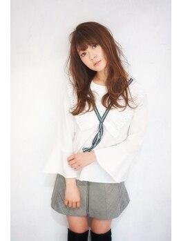 """カスタード(Custard ushiwakamaru)の写真/理想通りのヘアに♪[スピィーディ]×[ダメージレス]で""""可愛いが持続できる♪""""。+ゆるふわで女子UP。・*"""