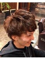 ディスパッチヘアー 甲子園店(DISPATCH HAIR)低めツーブロック パーマスタイル