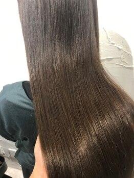 リノア(LINOA)の写真/【TOKIO/kanameTR/髪質改善サイエンスアクア】がお勧め。超音波アイロン・ナノスチームで浸透力大幅UP