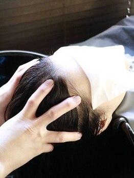 リプロ(Repro)の写真/極上のリラックス時間を…お客様一人一人の頭皮・地肌の状態に合わせたオーダーメイドスパが大好評☆