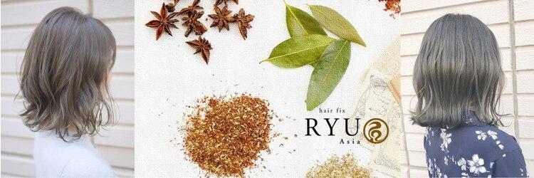 ヘアーフィックス リュウアジア 越谷店(hair fix RYU Asia)のサロンヘッダー
